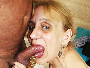 ugly 84 period old mom deep fucked