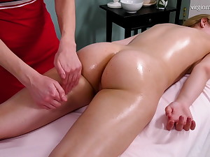 Irka Davalka, virgin company massage