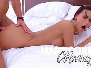 Hardcore Massage - Hot Brunette Milf Sexual Massage