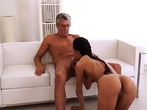 Mummy fucked hard and anal prankish time To be sure she's