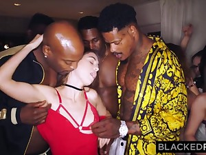 BLACKEDRAW My gf got gang-fucked at the surcease soiree
