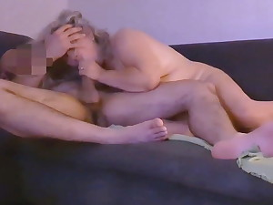 50 YO Mom Squirts And Swallows After Anal Intercourse 1of3