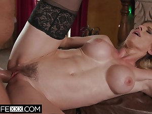 Big Tit Slutty Shared Wife Milf Cory Chase Christmas Gift Cum On Tits - Cory chase