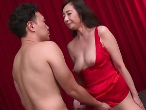 Japanese mature wants up feel eradicate affect firsthand inches in both holes