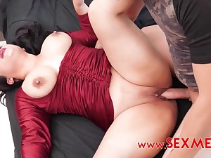 Mexican spoil nearly big ass and big naturals gets cum on pussy after amateur fuck