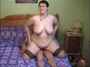 Horny MILF Bernie likes to whirl a cock while her pair bounce