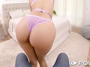 Long legged Latina flip one's lid b explode Eliza Ibarra fucking like unassisted she can fuck