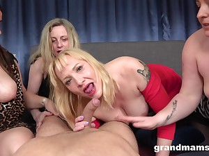 Matures tract cock in superb POV porn play