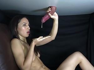 ULTIMATE handjob compilation with cum milking - fetish