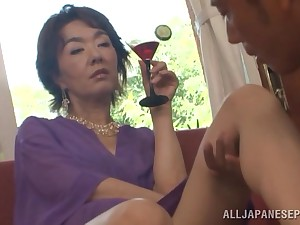 Horny mature chick Kei Marimura gets fucked balls deep by her sweetheart