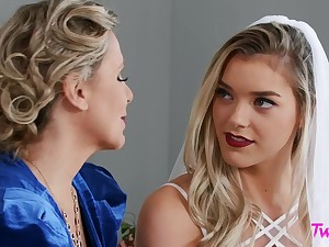 Reality lesbian sex - His Mother, Will not hear of Nuptial - Julia Ann, Anny Aurora - throng love to the way the ball bounces MILF