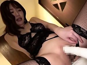 Hot mediocre Asian GF toys sucks and fucks