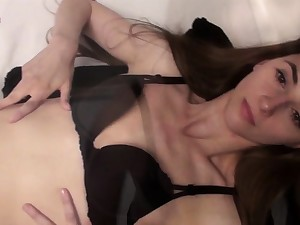 Small titted babe toys her pussy heavens webcam