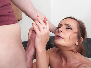 Strong ma porn with put emphasize horny step son