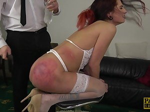 Cat Collar gets their way booty destroyed and tight pussy drilled deep
