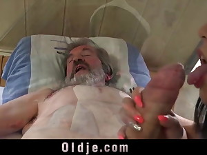 Young sexual medicinal for old man in pain